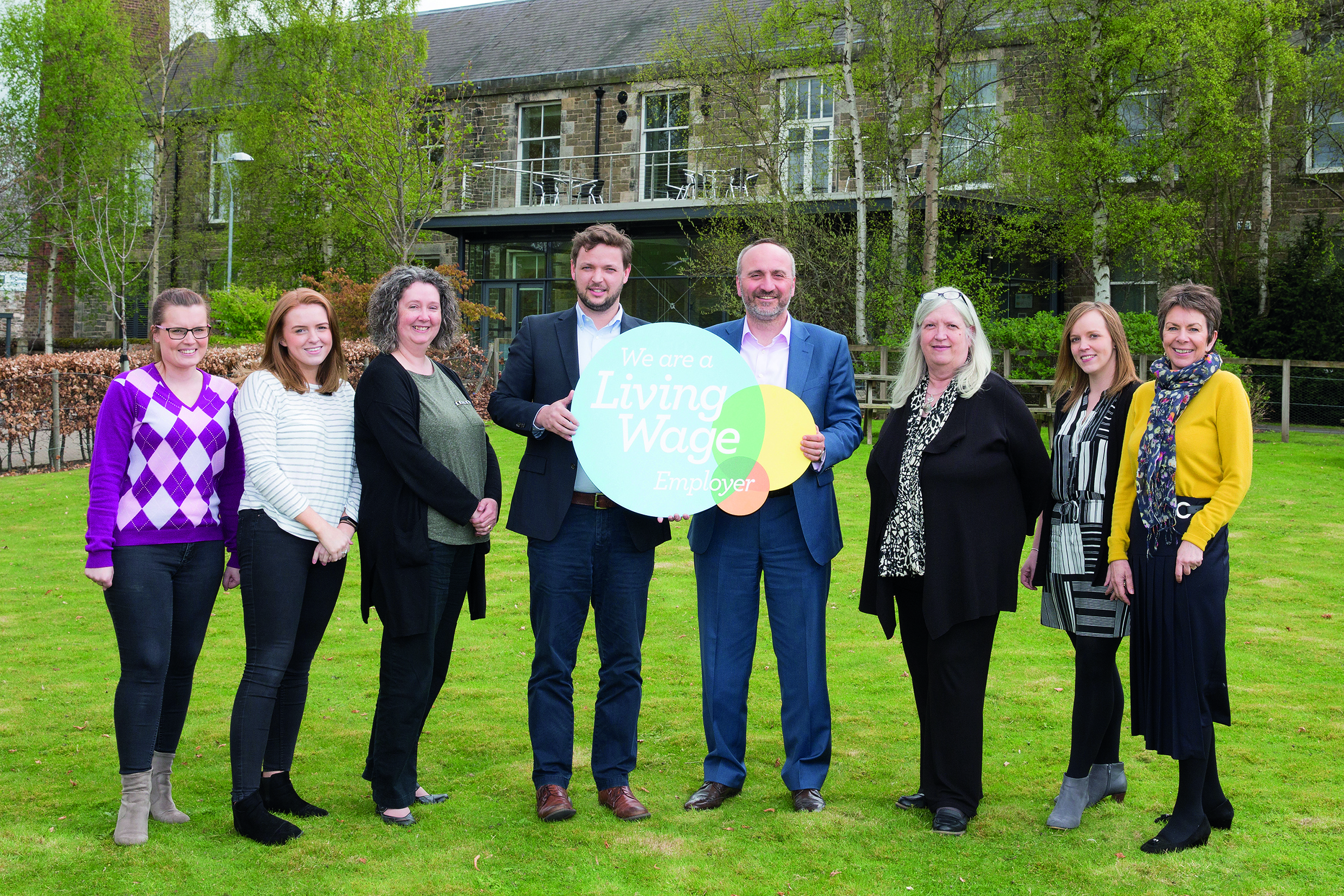 Eildon proud to be a Living Wage Employer