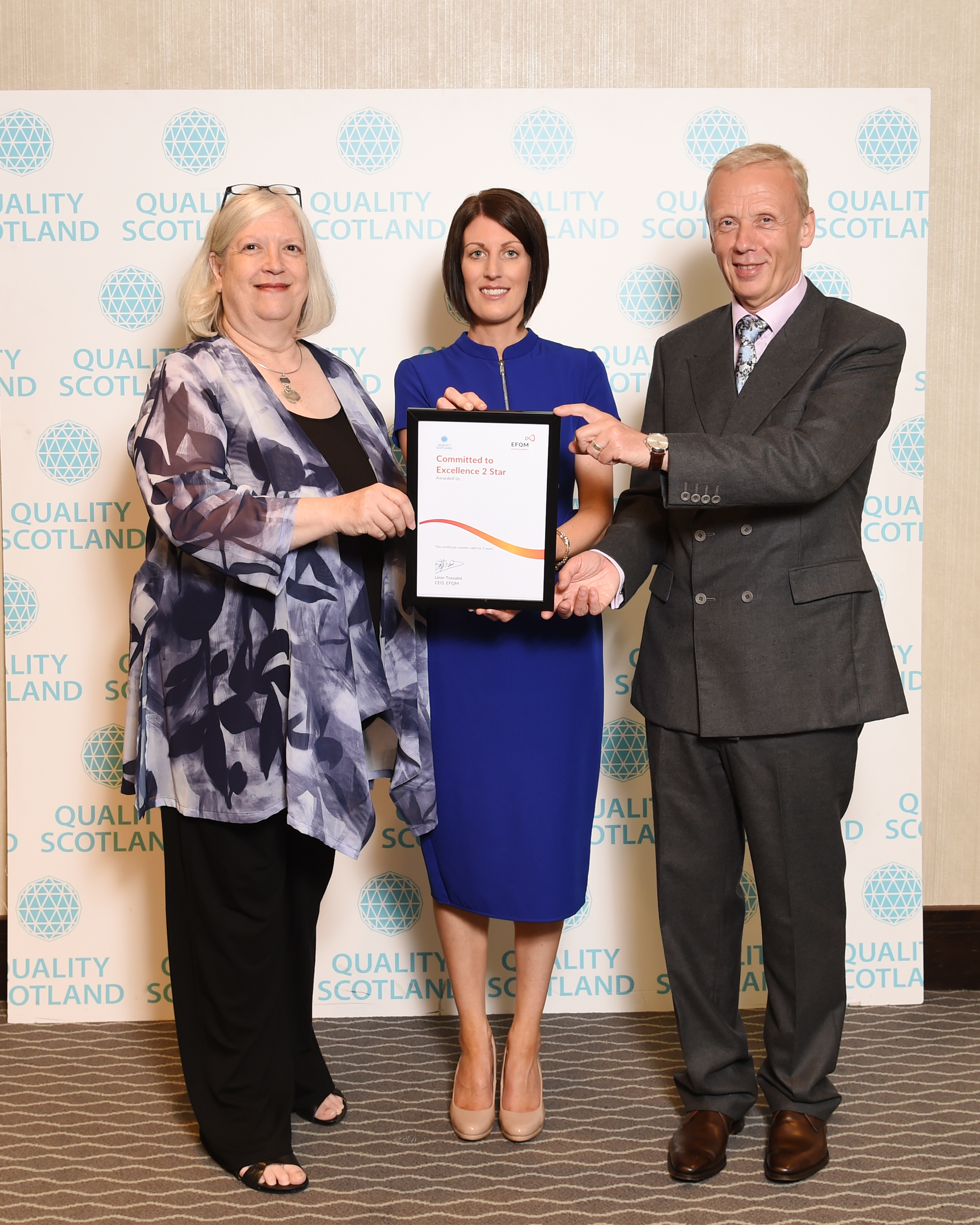Eildon Achieves 2 Star Status for European Foundation for Quality Management Framework