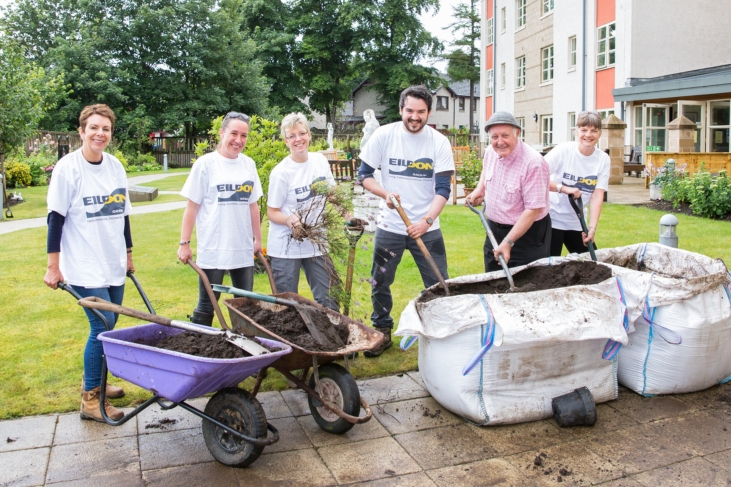 Eildon Makes a Difference With The 'Friends of Dovecot'
