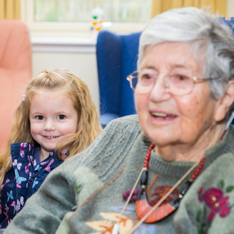 Children from First Nursery visit Dovecot Court