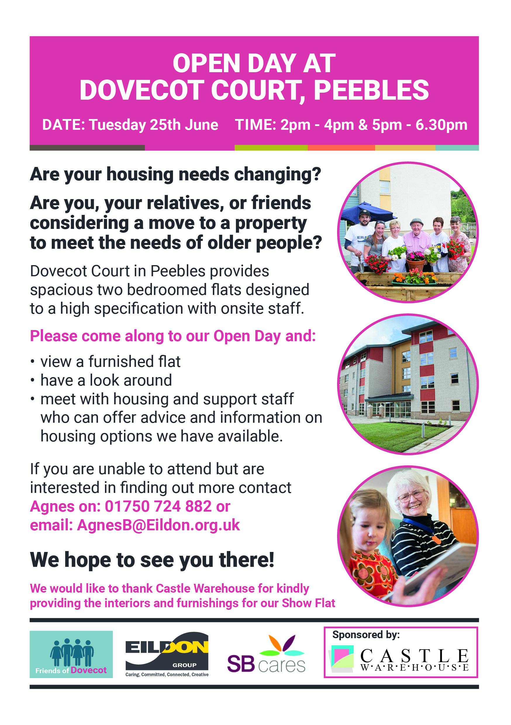Open Day at Dovecot, Peebles