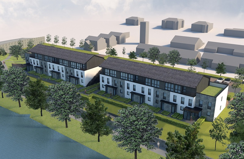 New design plans submitted for Tweedbridge Court in Peebles