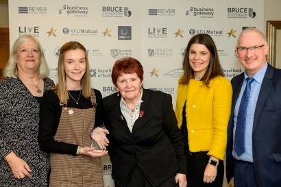 Eildon scoops two top awards at Scottish Borders Chamber of Commerce Business Excellence Awards 2019