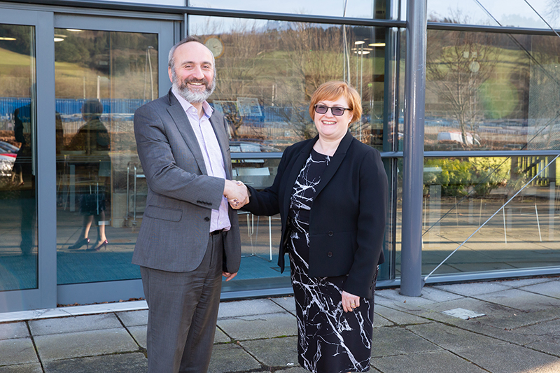 Borders College and Eildon HA commit to future joint working partnership